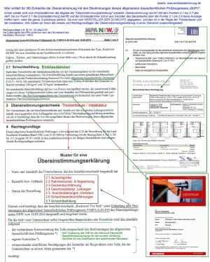 bereinstimmungserklrung - Ubereinstimmungserklarung Muster