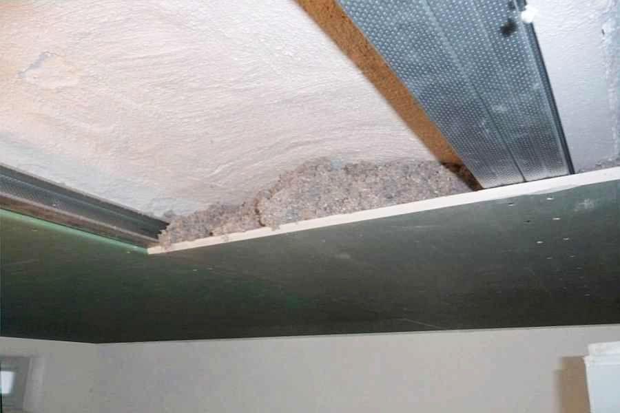 Kellerdecken, Kappendecken dämmen