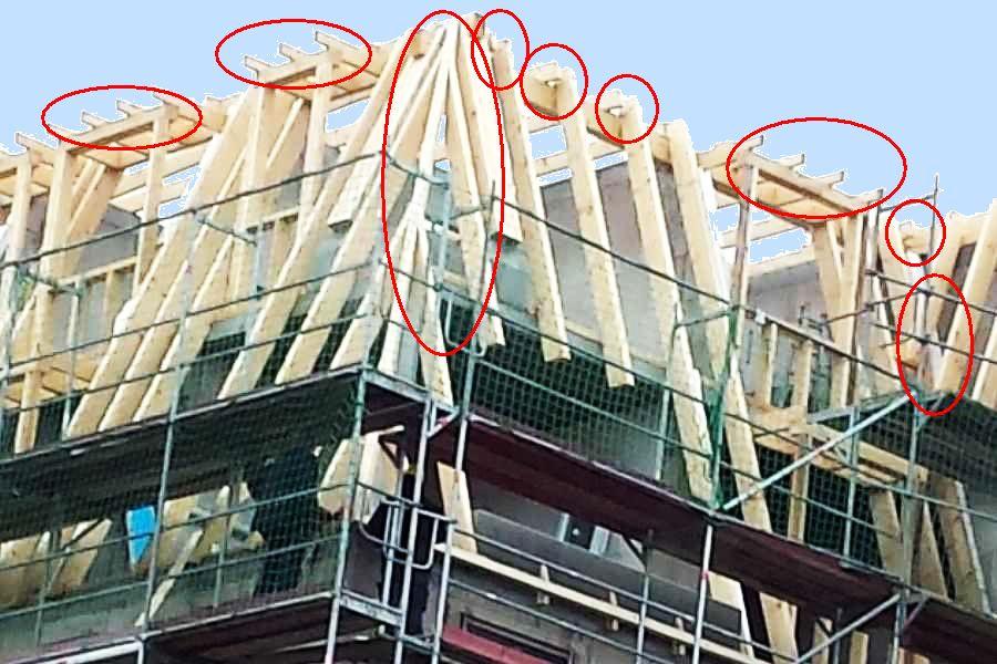 Dachdämmung Problemzonen im Neubau